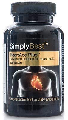 HeartAce Plus™ | Reduce y Equilibra los niveles de Colesterol | 120 Comprimidos |