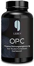 9 Leben OPC-Traubenkernextrakt | 180 Kapseln | hochdosiert nach HPLC | Laborgeprüftes OPC | 1200mg Extrakt mit 820mg OPC T...