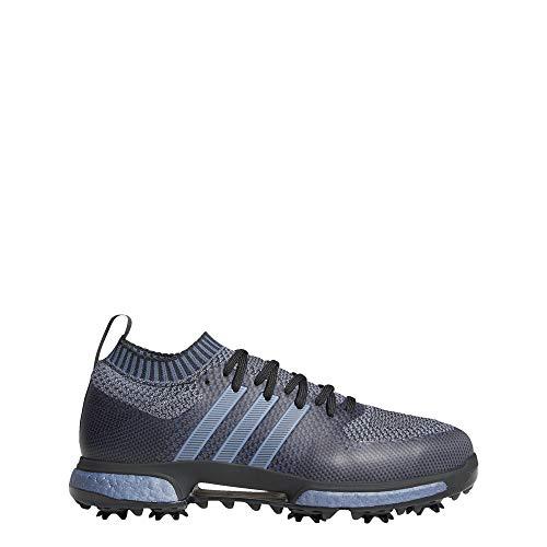 adidas Tour360 Knit Leichter Golfschuh I Carbon I Bequem I Atmungsaktiv I Breite Passform 44 2/3