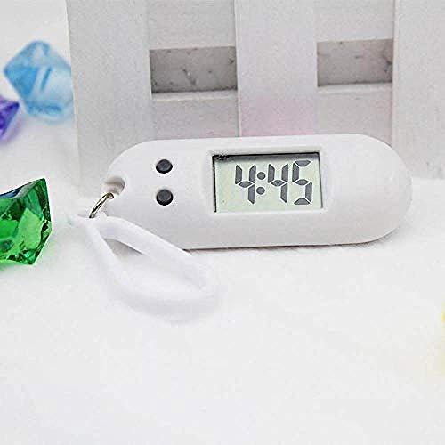 DdA8yonH Sleutelhanger, Unisex Student Sleutelhanger Elektronische Klok Sport Timer Haak Digitale Outdoor Hardlopen Elektronisch Horloge Examen Kleine Wandklok A