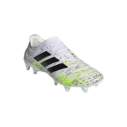 adidas Copa 20.1 SG, Zapatillas de fútbol para Hombre, Ftwwht/Cblack/Siggnr, 48 2/3 EU