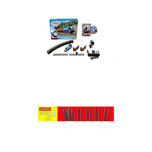 Hornby R9283 Thomas & Friends The Tank Engine Train Set, Blue