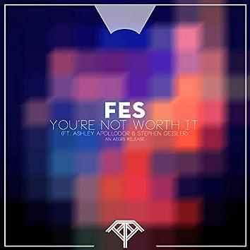 You're Not Worth It (feat. Ashley Apollodor & Stephen Geisler) [Eric Skarding Remix]