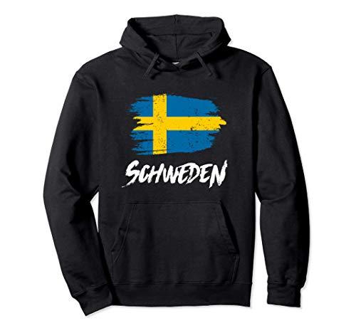 Schweden Flagge Sweden Schwedische Fahne Urlaub Geschenk Pullover Hoodie