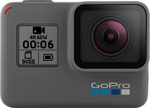 GoPro HERO6 Black - Waterproof Digital 4K Action Camera (Renewed)