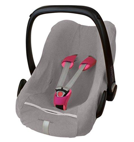 ByBoom - Frottee Sommerbezug, Schonbezug für Babyschale, Autositz, z.B. Maxi Cosi CabrioFix,...