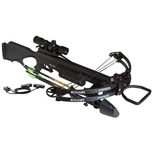 Stryker Crossbows Offspring Crossbow Package, Black Ops, Adult