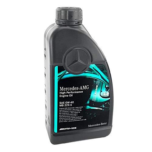 NB PARTS Aceite de motor original MB 229.5 0w40 (1 litro sin accesorios)