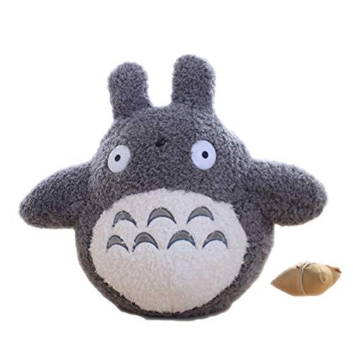 Hinder Peluche de Totoro de dibujos animados, juguete de peluche de Totoro, juguete de peluche de peluche de muñeca de bebé lindo personaje de la película de los niños regalo de cumpleaños 20 cm
