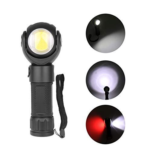 elegantstunning - Linterna giratoria de 360 Grados T6 LED con la luz de Trabajo de EPI de imán