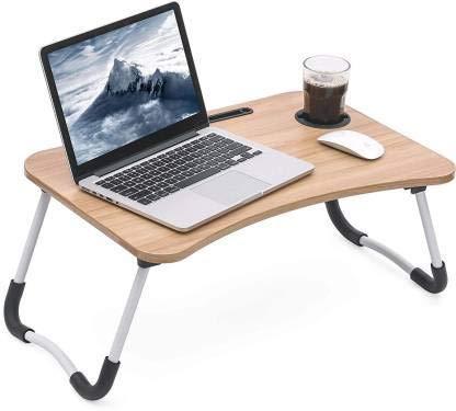 Ravdish Enterprise Multi Purpose Foldable Wooden Laptop Table – Adjustable Portable Laptop Table/Study Table(Multi) Multi