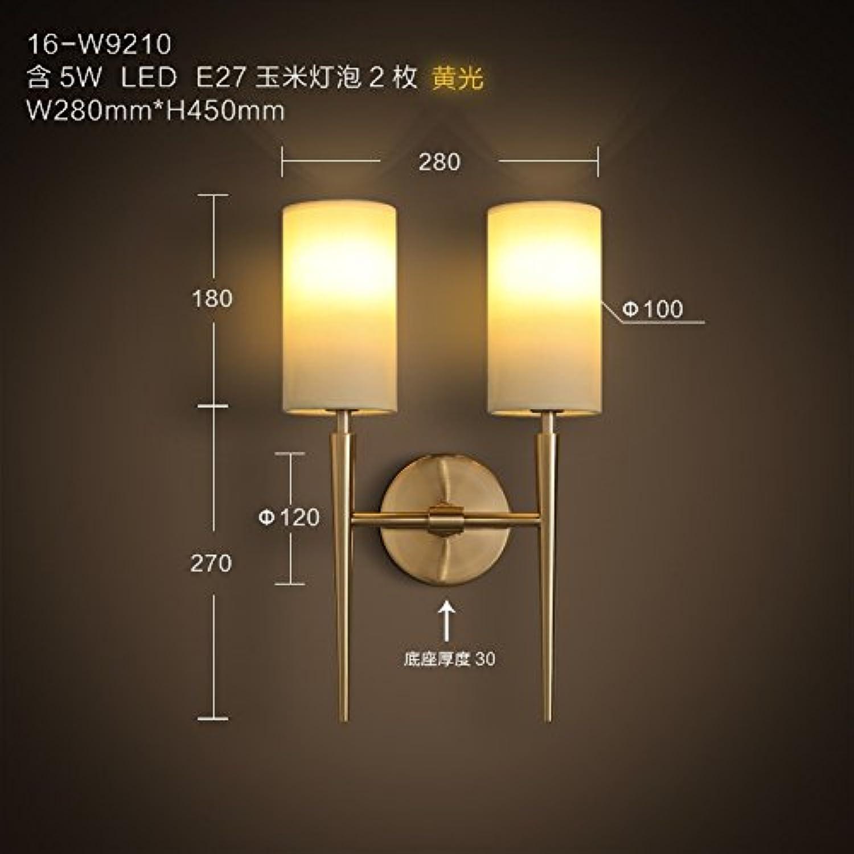 StiefelU LED Wandleuchte nach oben und unten Wandleuchten Led-Wandleuchte Wohnzimmer Schlafzimmer ist doppelte Wand leichte Stoffe Garden Bed