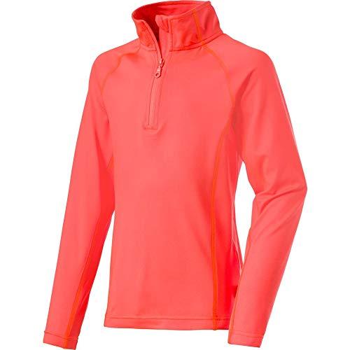 McKINLEY Rio T-Shirt à Manches Longues pour Enfant, Enfant, 280435, Red Light, 8-9 Ans