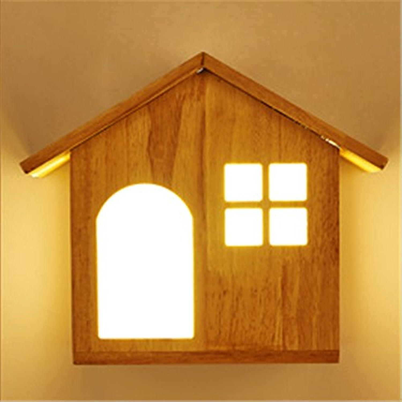 StiefelU LED Wandleuchte nach oben und unten Wandleuchten Massivholz LED Wandleuchte Haus Wohnzimmer Esszimmer Schlafzimmer Arbeitszimmer dekorative Wand Lampe