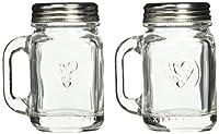 KIKKERLAND Mason Jar Salt & Pepper Shakers メイソンジャーソルトアンドペッパーシェイカー SP16