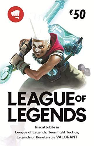 League of Legends €50 Buono regalo | Riot Points | VALORANT Points