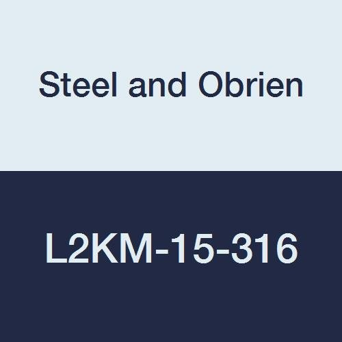 Steel lowest price and Obrien Ranking TOP8 L2KM-15-316 Stainless Clamp X Weld 45 De