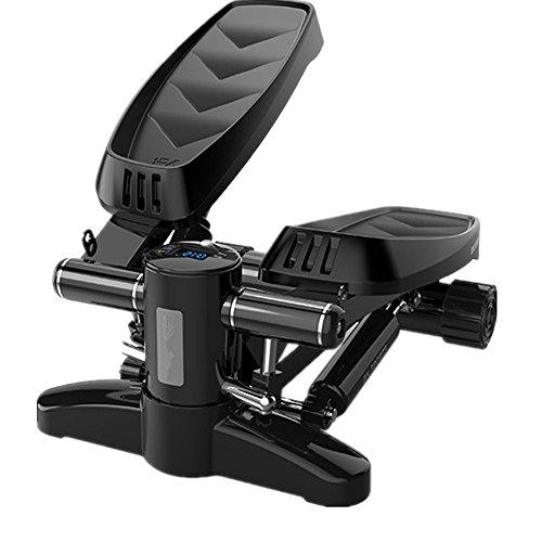 YAzNdom Swing Stepper PVC-Kunststoff-Stepping Altmodische Leise Multifunktions-Rehabilitationsmaschine Mit Einstellbarem Widerstand Und Komfort für Anfänger