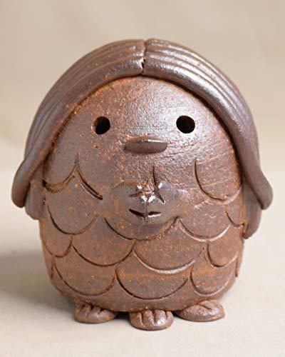 アマビエ あまびえたん 津軽金山焼 焼き締め 高さ約7cm 202g 送料無料 陶器 アマビエ様グッズ あまびえ 日本製