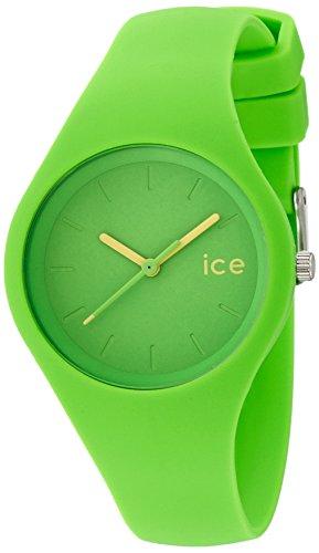 ICE-Watch Ola - Reloj de Cuarzo para Mujer, con Correa de Silicona, Color Verde