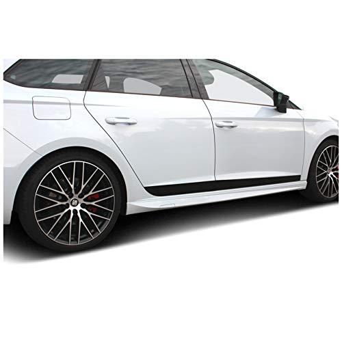 Finest-Folia D025 Seitenstreifen Fahrzeugdekor Kfz Zubehör Aufkleber Carwrapping Folie Dekor Auto