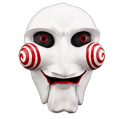 ZXPzZ-Masken Halloween Maske Horror Kettensäge Schreck Film Thema Maske Sammleredition Harzmaske