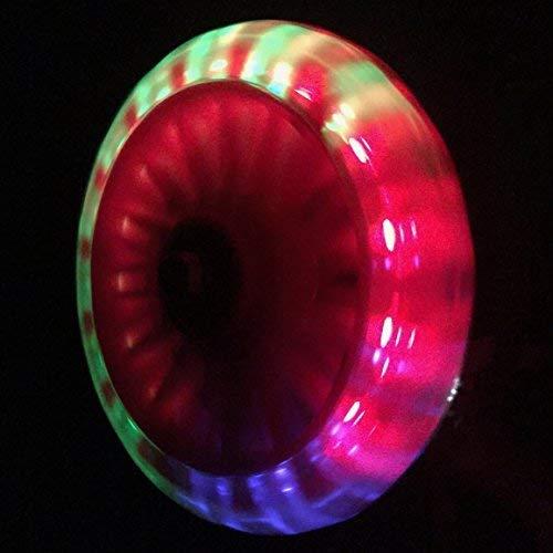 Leichte Sicherheitstraining Räder - LED Bike Stabilisatoren für Kids Cycles von Bikes&.co. Rote, grüne und blaue LEDs für Radsport und Sicherheit - 3