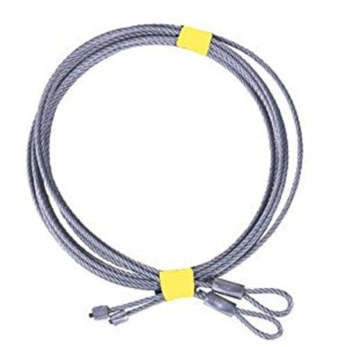 Affordable 10-Pair of 7' for Garage Door Cable for Torsion Springs -7' Long Door (102)