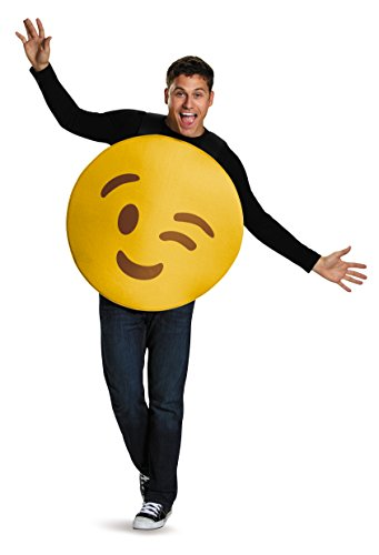 Disguise Men's Wink Costume, Yellow, One Size