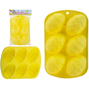 Silicone Easter Egg Baking Food Grade Non Stick Mould Cupcake Mold Chocolate Candy Decorating Easter Egg Baking