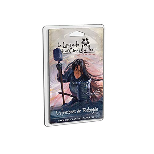 Fantasy Flight Games- Leyenda de los Cinco Anillos LCG - Defensores de Rokugan, Color (L5C26ES) , color/modelo surtido