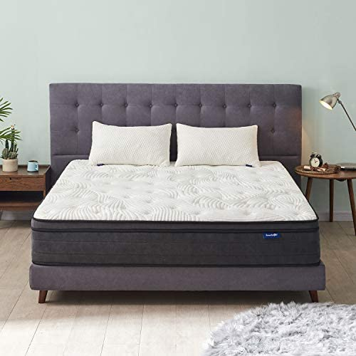 Sweetnight Full Mattress Full Size Mattress in a Box 10 Inch Pillow Top Gel Memory Foam Hybrid product image