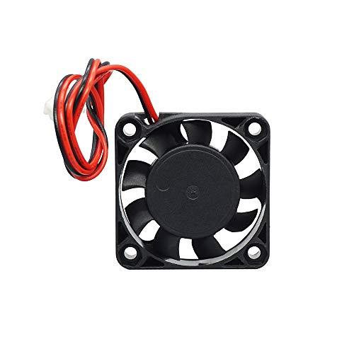 Xiaomindiano Impresoras 3D de piezas de 4010 ventilador de CC 12V / 24V ventilador de refrigeración XH2.54 2 Pin Dupont Wire placa base del mudo refrigerador hotend radiador 40 * 40 * 10mm Partes de l