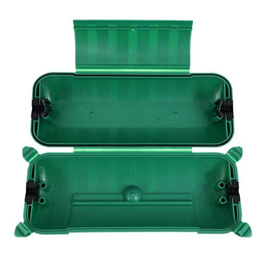 ULTECHNOVO Caja de conexiones impermeable para exteriores IP44 cable alargador para exteriores a prueba de polvo para la toma de corriente exterior LED decoración de vacaciones