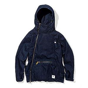 """grn outdoor ジーアールエヌアウトドア 火遊びキャンパージャケット 2(M) インディゴ"""""""
