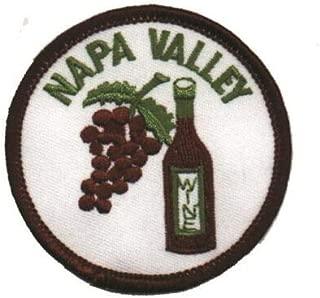 Napa Valley Wine Patch - California (Iron on)