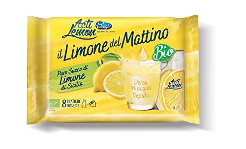 Acti Lemon Succo di Limone Biologico - 1 confezione (15ml X 8 cad.) | 0 + 7°C - Giancarlo Polenghi