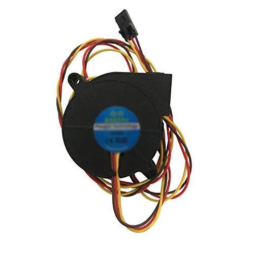 Paquete de 2 ventiladores de larga duración de 3 cables 50 x 50 x 15 mm DC 5 V 5015 refrigerador frontal ventilador de extremo caliente para Prusa i3 MK3 MK3S MK2/2.5 impresora 3D