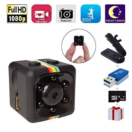 SpyCamera, Papakoyal HiddenCamera Mini Camera HD 1080P/720PSpy Cam WirelessSmallPortable...