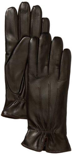 Roeckl Damen Handschuh Klassiker - Gerafft 13011-220, Gr. 8, Braun (790)