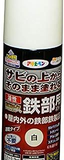 油性高耐久鉄部用スプレー 300mL (白)/62-2309-42