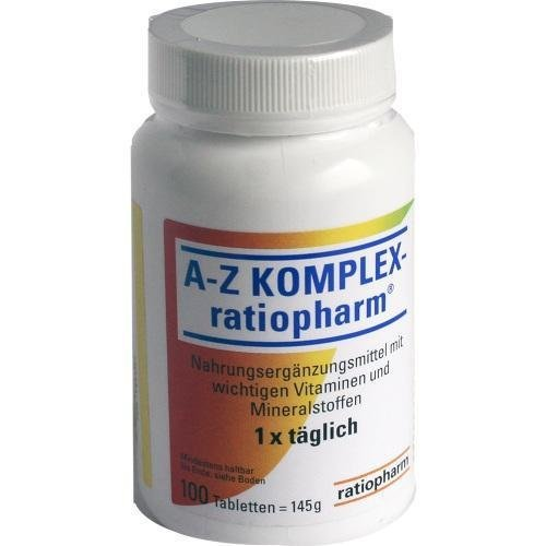 A-Z Komplex ratiopharm, 100 Tabletten by ratiopharm GmbH