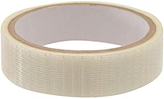 SportsYuva Cricket Bat Face Tape Protection Tape Roll English Fiber Tape (Reguler, 150 mm Fiber Tape)