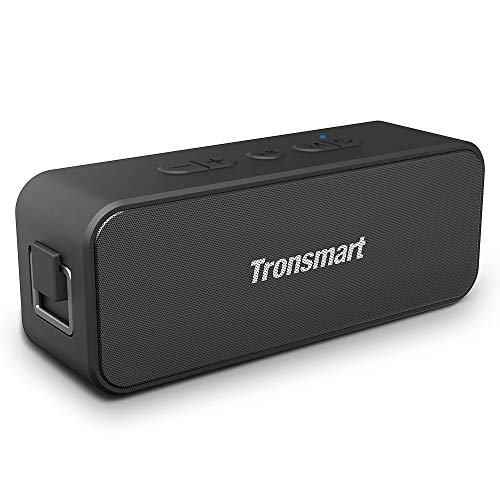 Enceinte Bluetooth Portable, Tronsmart T2 Plus Haut-Parleur sans Fil Extérieur Speaker 20W Bass e Audio Puissant, Speaker Bluetooth 5.0, Autonomie 24H, Étanche IPX7,TWS, Assistant Vocal