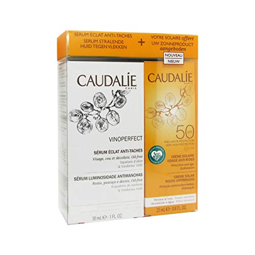 Caudalie Vinoperfect Serum 30ml + Gesichtscreme Sun Face Spf50 25ml