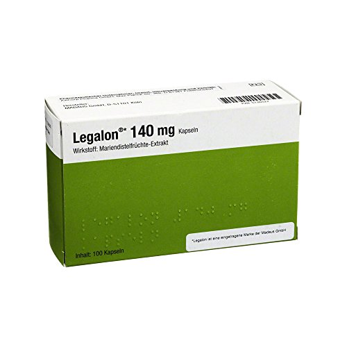 LEGALON 140 mg Kapseln 100 St