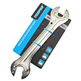 LZHJ Fahrradpedalschlüssel, 13/15/14 / 16mm Fahrrad-Multifunktionswerkzeug, Stahl-Fahrradkopf-Gabelschlüssel mit offener Welle