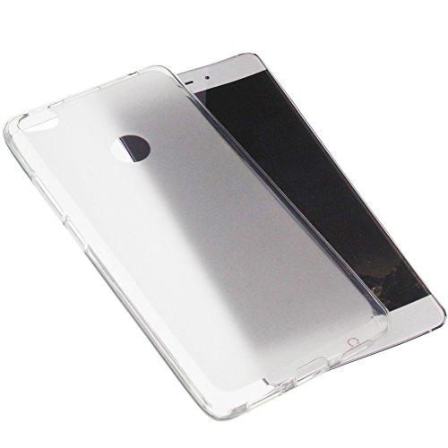 foto-kontor Tasche für ZTE Nubia Z11 Gummi TPU Schutz Handytasche transparent weiß