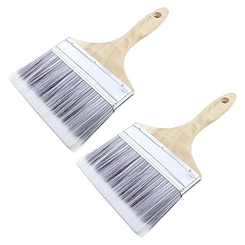 Antrader 6-Inch Wide Soft Tip Bristle Paint Brush Set...