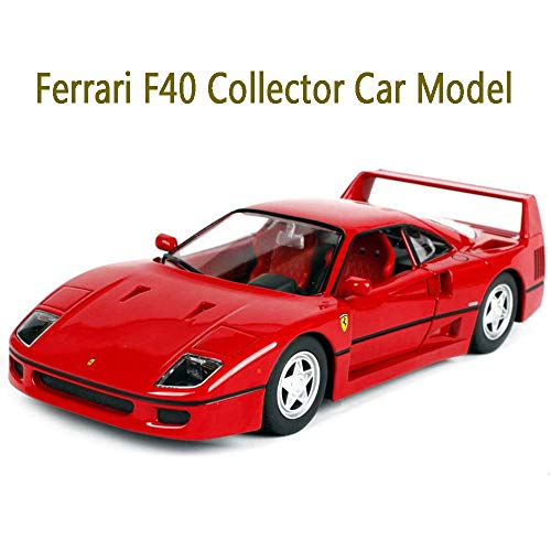 Convertible Racing Car 458 Speciale Model Cars, 1:18 Scale Diecast Vehicle Model Toy Cars, Collection and Gift Best Choice, Metal Body, Finished Model Limited Edition Model Car,F40